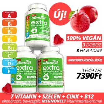 almavit extra vegán gumivitamin