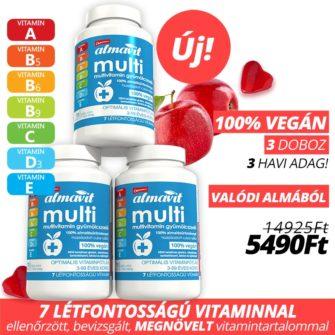 almavit multi vegán gumivitamin